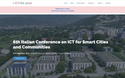 IT-CITIES 2020, ARCHEM: an AR and IoT Based Platform for Cultural Heritage